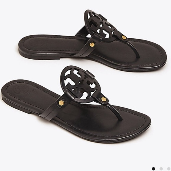 4148abfe143c Tory Burch Miller Sandals Chocolate Brown